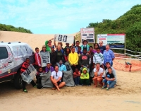 Trekking for Trash across SA's coastline