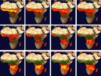 Africa: On fire from space