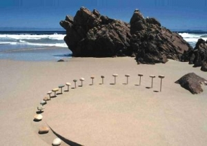 south africa's first international land art festival
