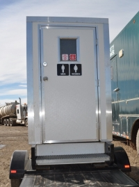 City presents Portable Flush Toilets to communities