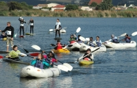 Riaan Manser takes on the Peninsula Paddle