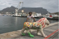 Life-sized lion comes to Cape Town