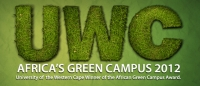Africa's Greenest Campus awarded to UWC