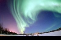 What makes northern lights happen?