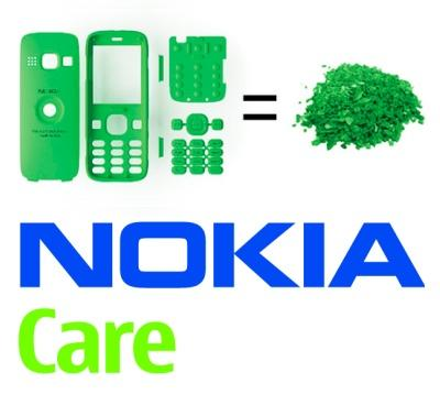 nokia green eco recycle cellphone sustain2