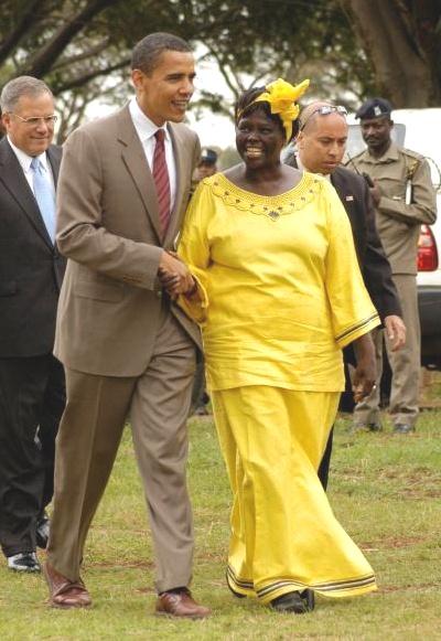 Barack  Wangari