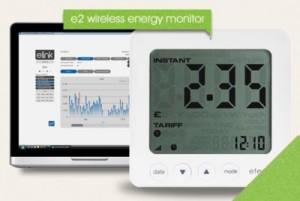 efergy wireless electricity monitor screen