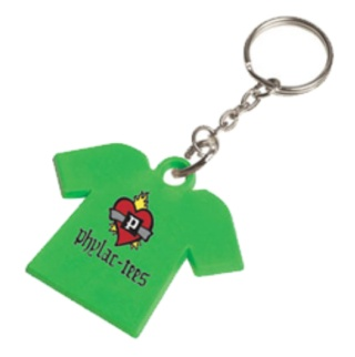 best recycled products green pvc keyring eco