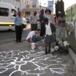 climate_talk_train_tree_planting_painting_eco5