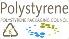 polystyrene plastic waste packaging green1