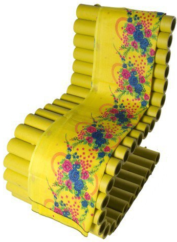 Dannis Designs - yellow chair