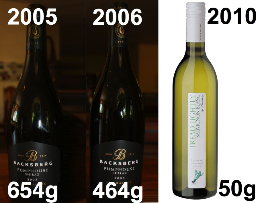 backsberg - different bottles