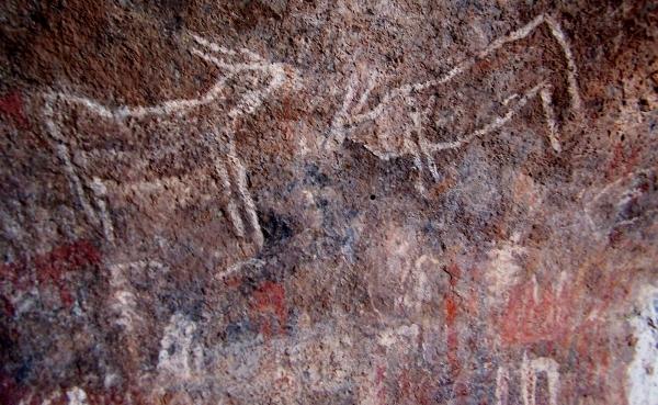 wonderwerk cave bushman painting
