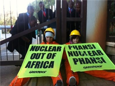 greenpeace nuclear protest 2