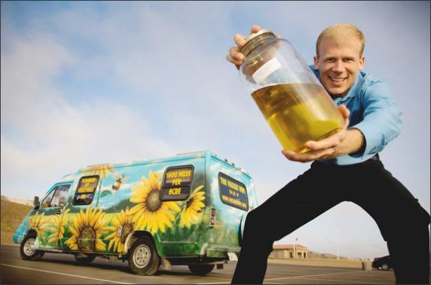 Fuel - Josh Tickell and his green van