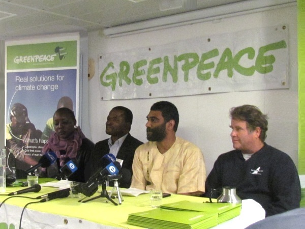 Greenpeace - Rainbow warrior comes to CT -4