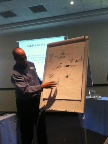 AFSUN roger explaining food systems 360x480