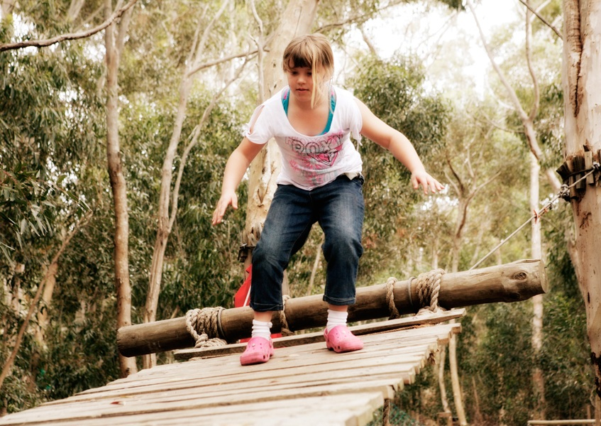 Camp Africa - tree climber2