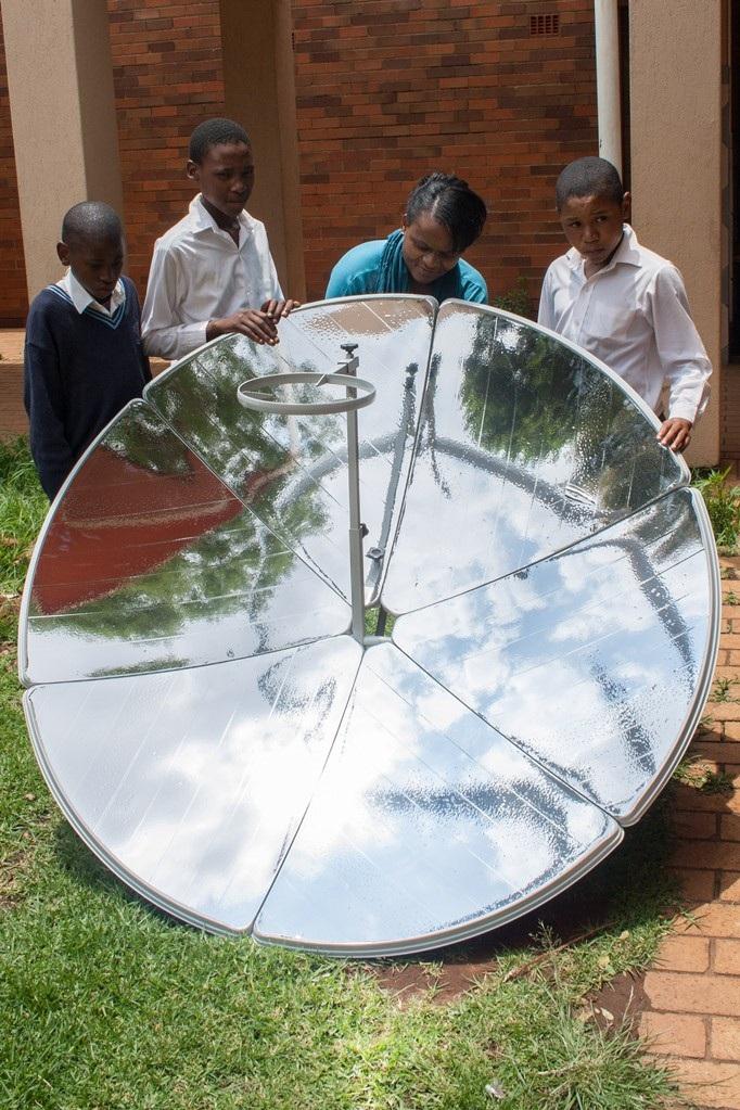 solar cooker bikes to help Sowetans -3