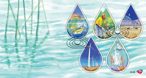 World Water Day stamps
