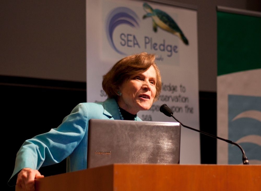 Sea Pledge talk3