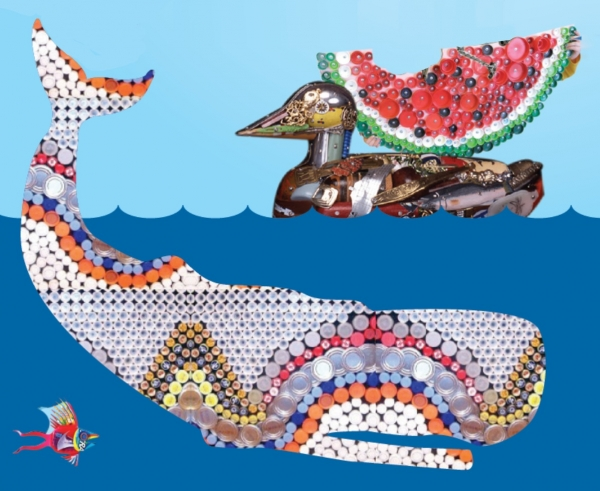 turning-recycled-ocean-waste-into-art