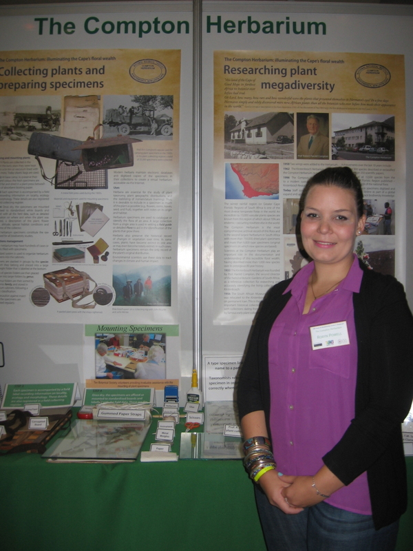 Robyn Powell from the Compton Herbarium Display
