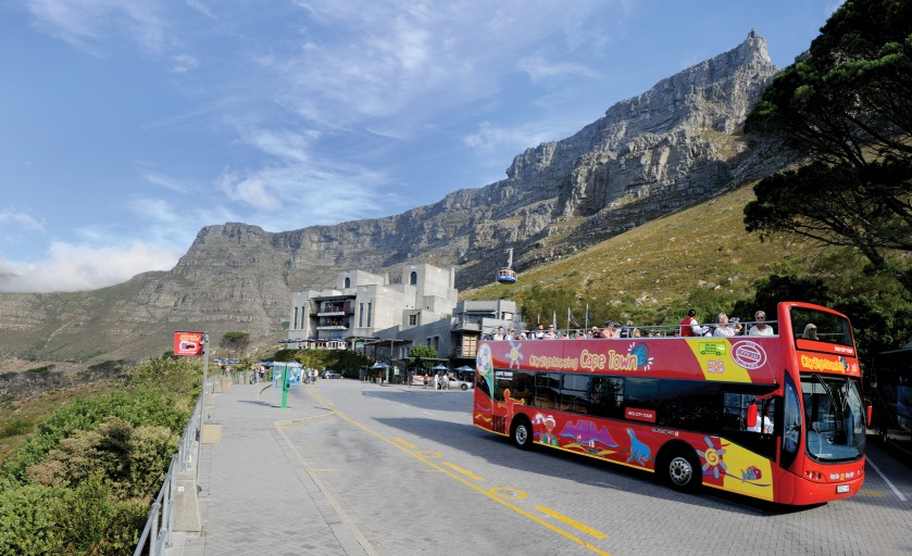 Cape Town Red City Tour Bus Stop 13 Table Mountain Cableway