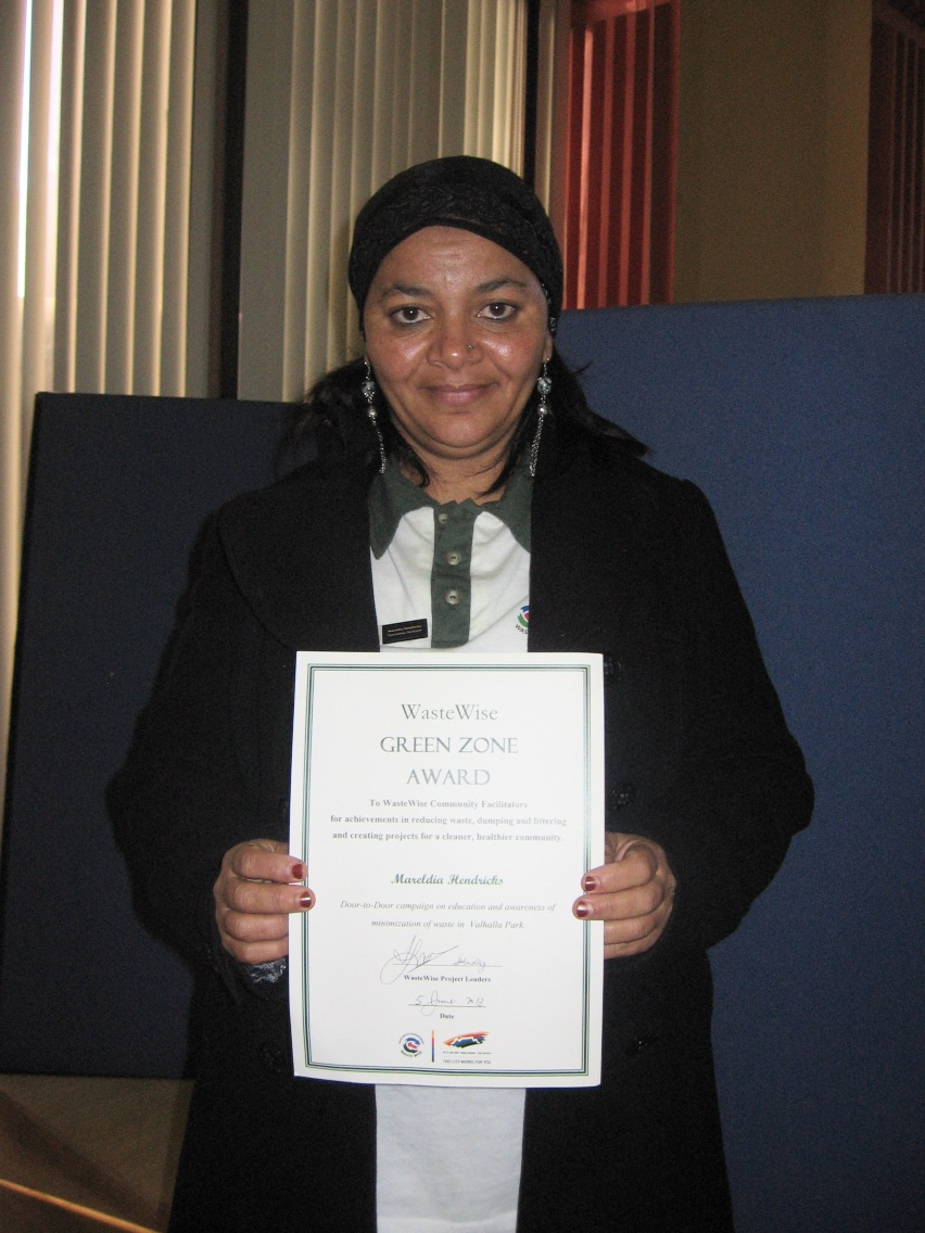 Environment Day Awards - Mareldia Hendricks