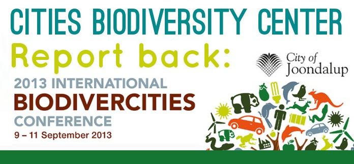 2013 International BiodiverCities Conference2bb
