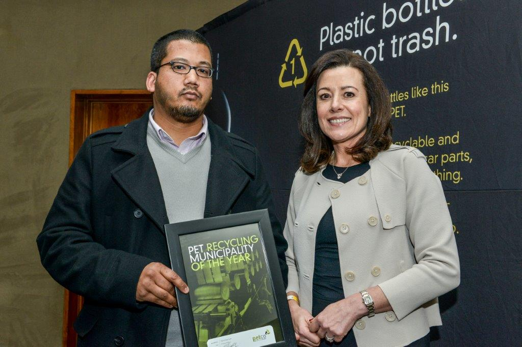 PET recycling municipality of the year award