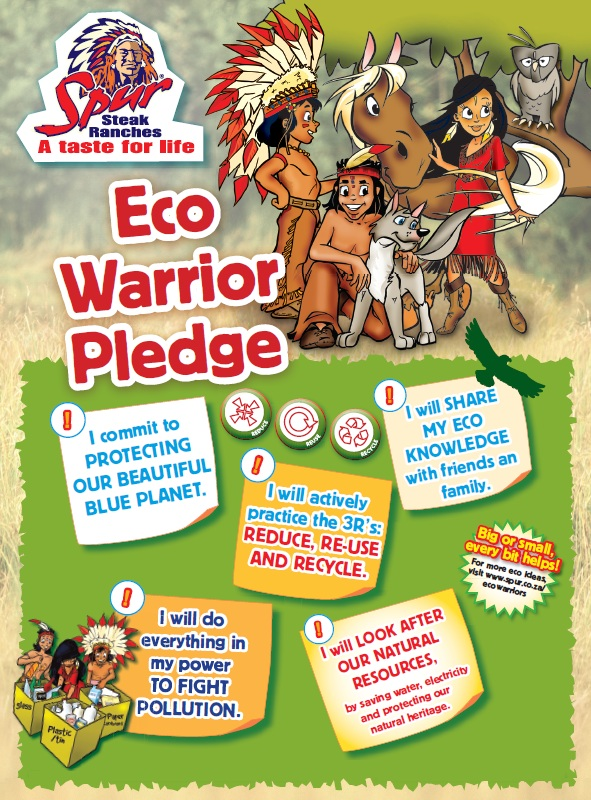 eco warrior pledge