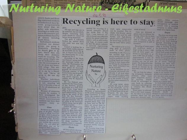 Green Times story - Eikestad