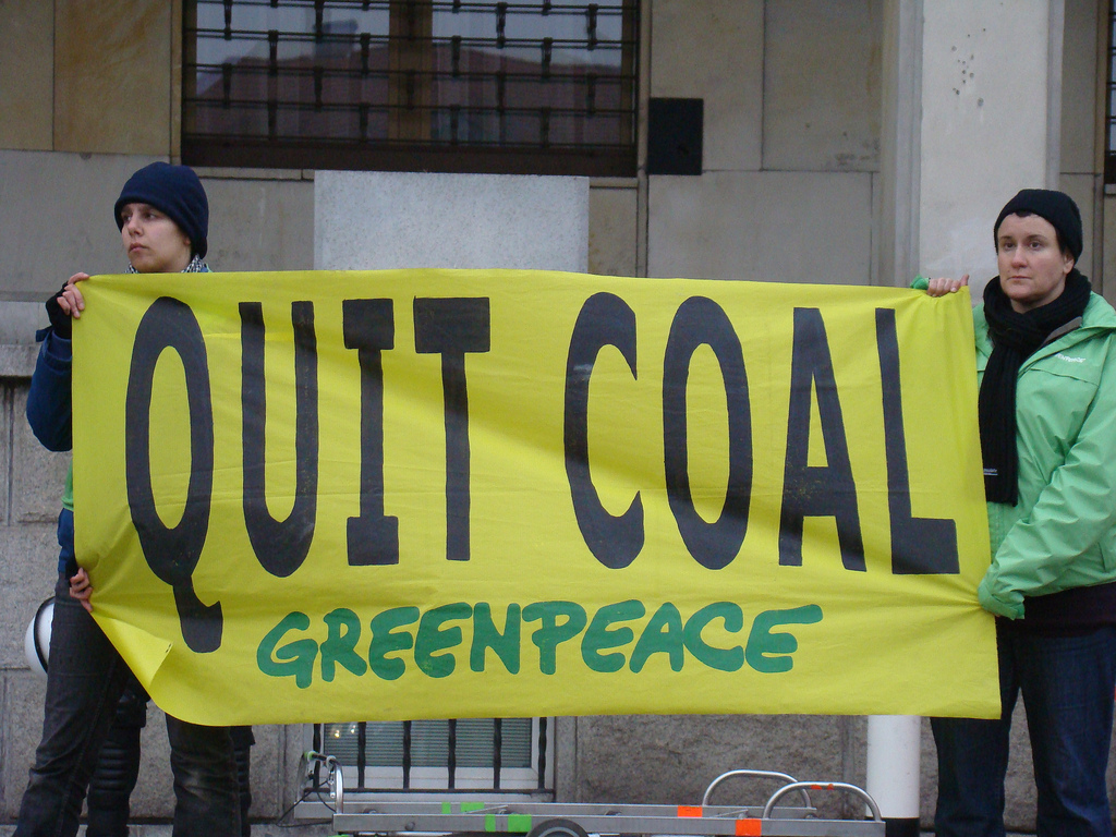 greenpeace coal action3