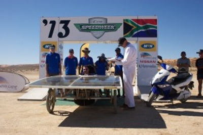 Anton Scrutinising Tshwane's Universities solar car