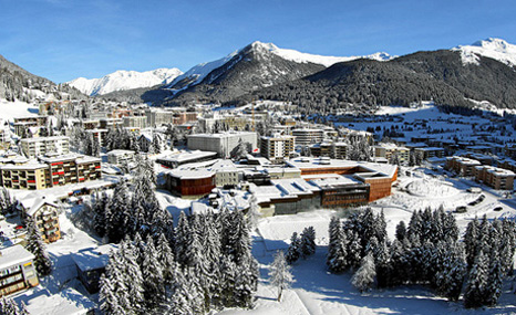 Davos hosts next week's World Economic Forum