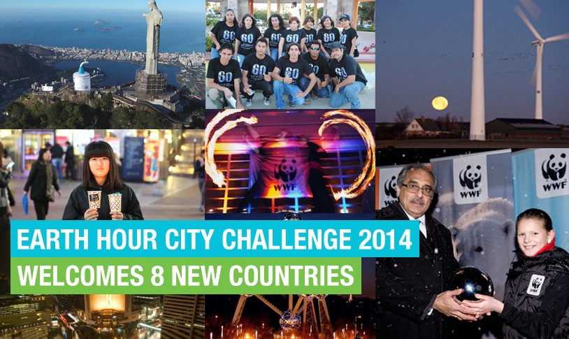 Earth Hour City Challenge 2014 poster