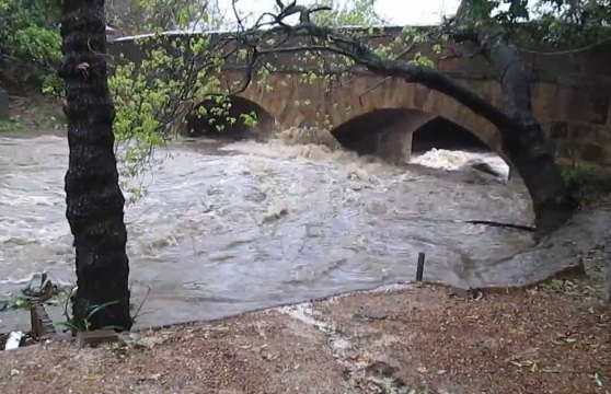 Lourens River flood Somerset West repairs