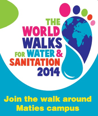 Maties Walk for Water and Sanitation