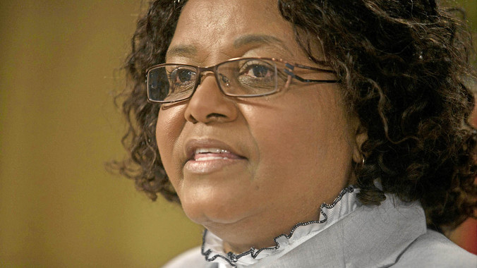 Minister of Water and Environmental Affairs Edna Molewa