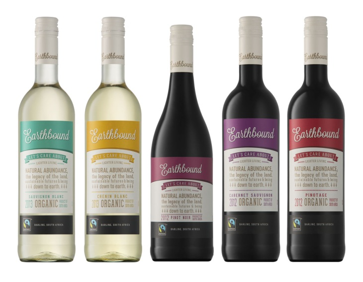 organic wine earthbound range