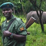Armed guards on patrol 24/7 at rhino sanctuary