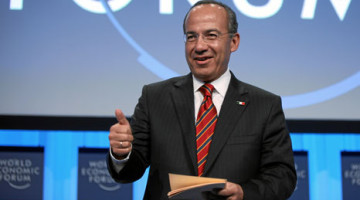 Calderon was Mexico's president for six years, during which he oversaw UN climate talks in Cancun (Source: World Economic Forum) - See more at: http://www.rtcc.org/2014/04/17/calderon-dismisses-false-choice-between-climate-and-economy/#sthash.ZbUd395u.cFfpScb8.dpuf