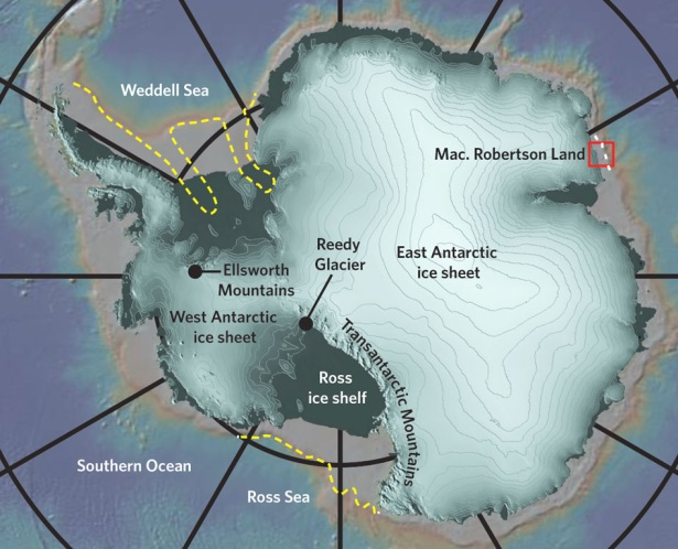 The Antarctic ice sheets