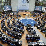 UN Green Climate Fund Board meeting in Paris.