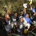 Earth Girls walk the talk & clean up communities