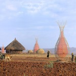 Handwoven dew collecting tower aims to ease Africa's water crisis
