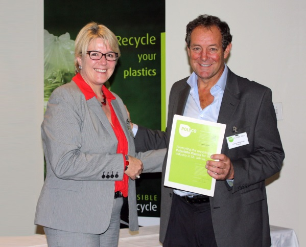 polyco plastics sa Mandy Naude and Jeremy Mackintosh at the POLYCO 2014 AGM