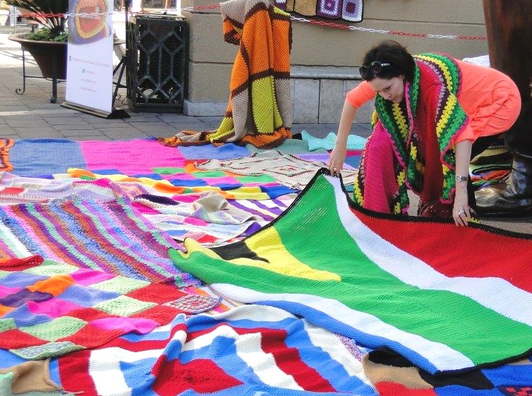 67 Blankets For Nelson Mandela Day The Green Times