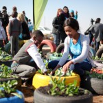 Miss Earth takes on Food Security at Orange Farm